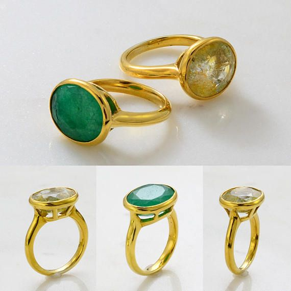 wide range hot sales look good shoes sale Gemstone ring - Gems Ring - Emerald Ring - Sapphire Gemstone Ring ...