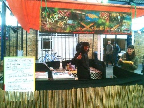 Arawak Grill at Greenwich Market London: Jamaican Catering specialists,Personal chef, Street food vendor/Markets, Pop ups & Catering services. Find out more about them on CookoutChef.com #CookoutChef
