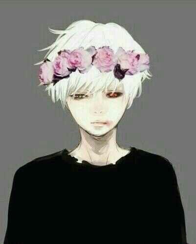 White anime