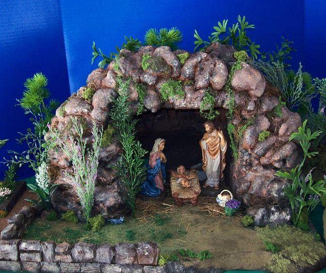 Found on Google from pinterest.com Christmas Cave, Christmas Manger,  Christmas Nativity Scene - Pin By Yesi Jaimes On Making This Pinterest Nativity, Christmas