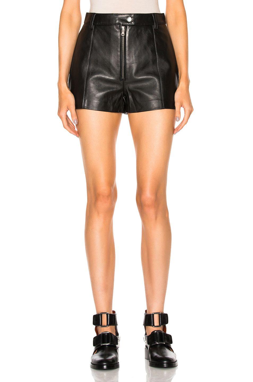 3.1 PHILLIP LIM Leather Shorts. #3.1philliplim #cloth #