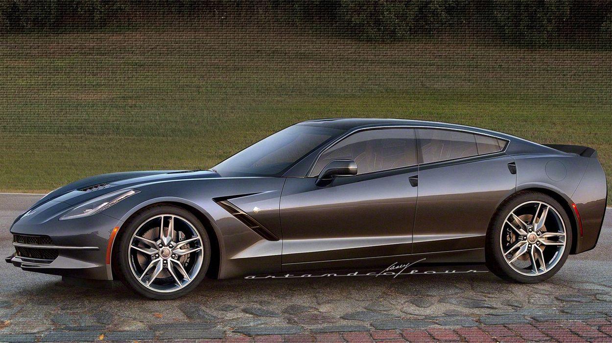 Corvette C7 4 Door Sedan Motion Pinterest Corvette