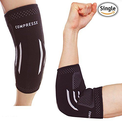 Compressx Elbow Brace Compression Sleeve Elastic Support For