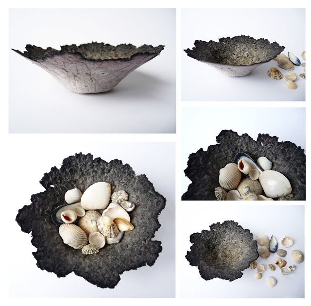 how to make paper pulp bowls