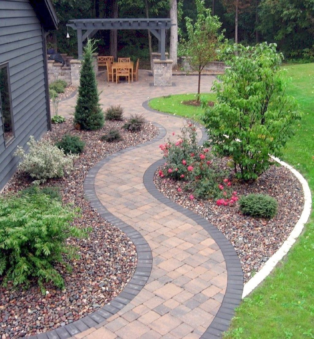 Small Garden Design Ideas Low Maintenance | Pathway ...