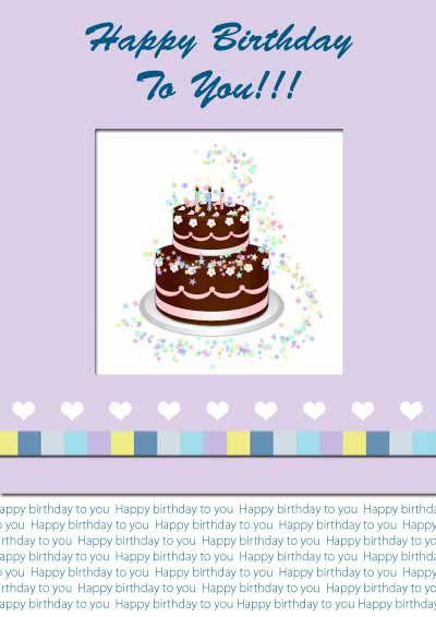 Free Printable Birthday Cards My Free Printable Cards