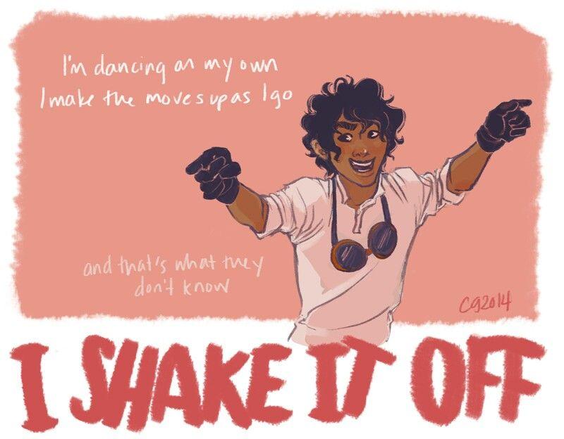 "Leo Valdez "" Shake It Off """