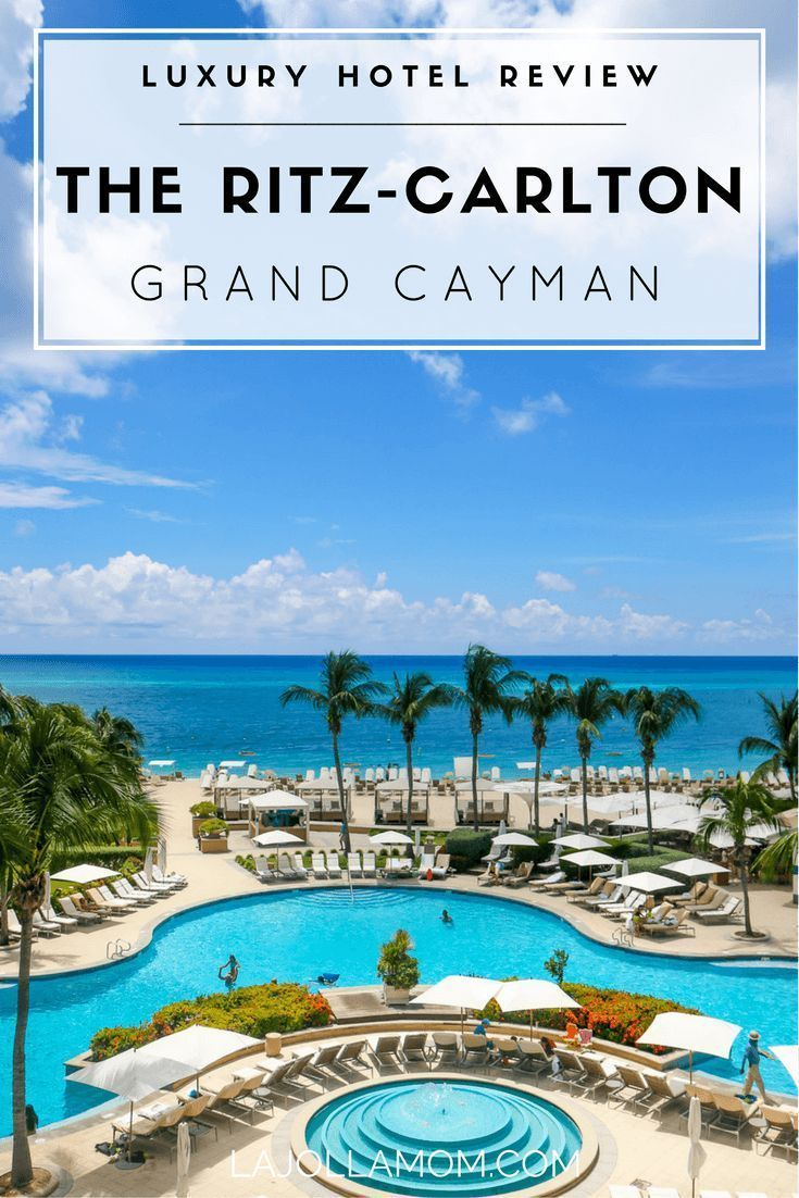 Caribbean Luxe At The Ritz-Carlton, Grand Cayman (With