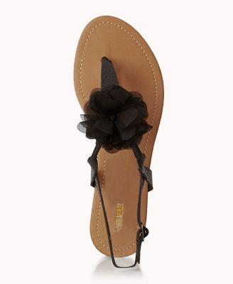 Rosette Thong Sandals