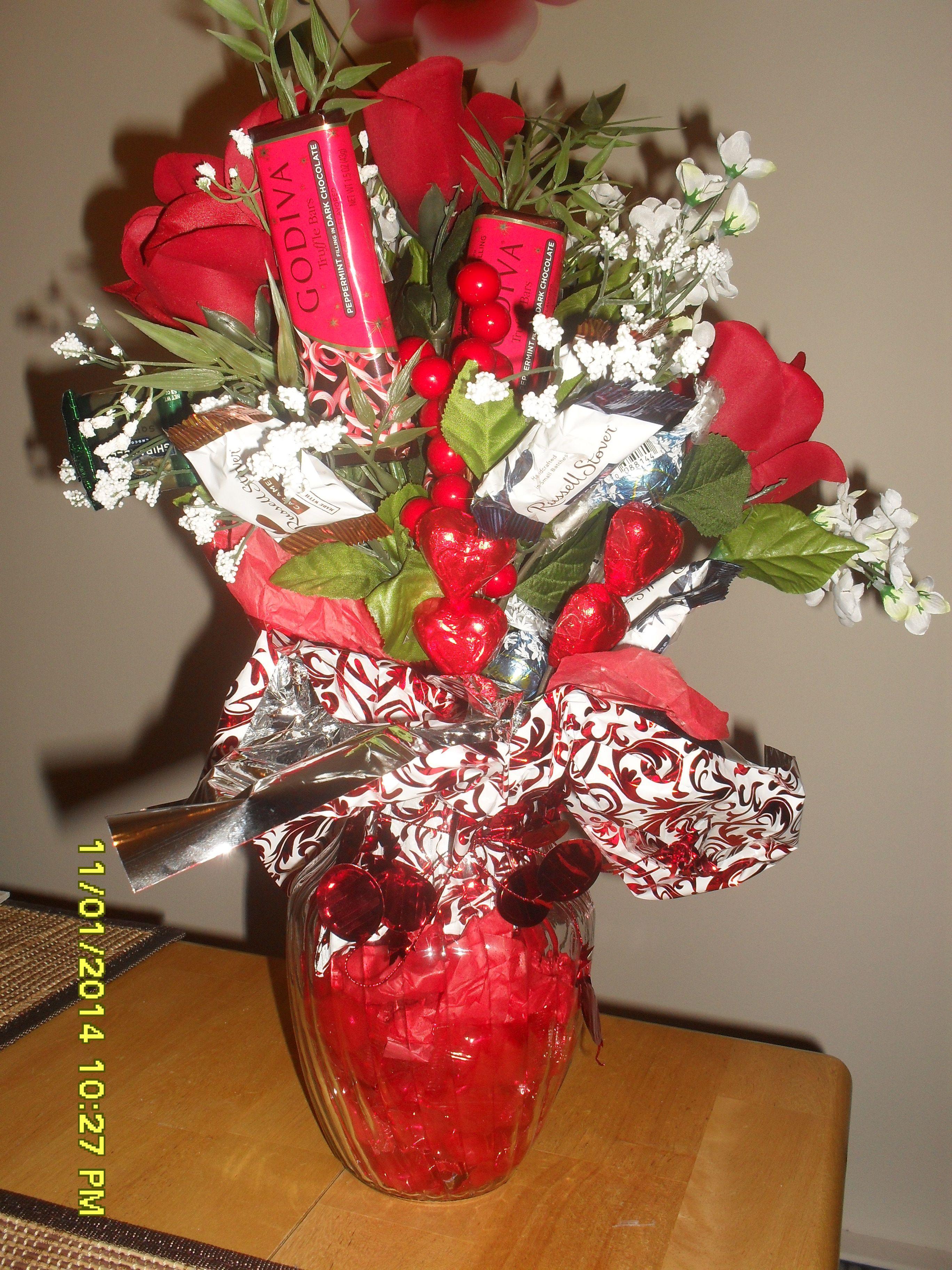 Candy Flower Arrangement Creations By Karen Pinterest Flower