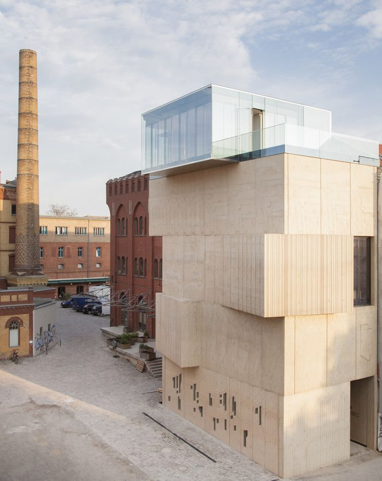 new berlin architectural drawing museum excels on the surface