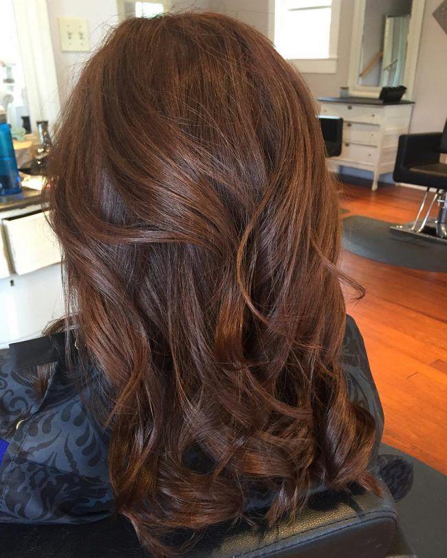 Karamell Highlights Im Haar Toffee Hair Styles Brown