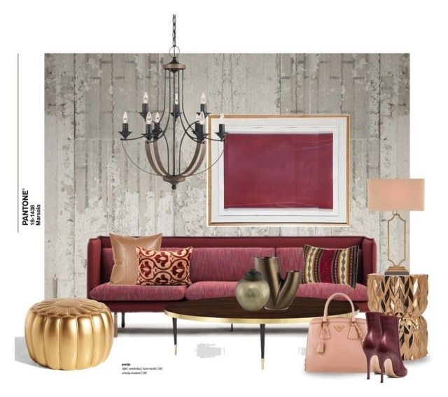 """18-1438"" by gloriettequartet ❤ liked on Polyvore featuring interior, interiors, interior design, dom, home decor, interior decorating, NLXL, Kate Spade, NOVICA i Twentyfirst"