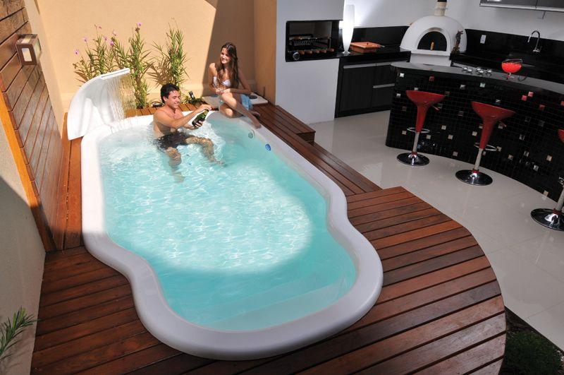 piscinas pequenas - Pesquisa Google minha casa Pinterest