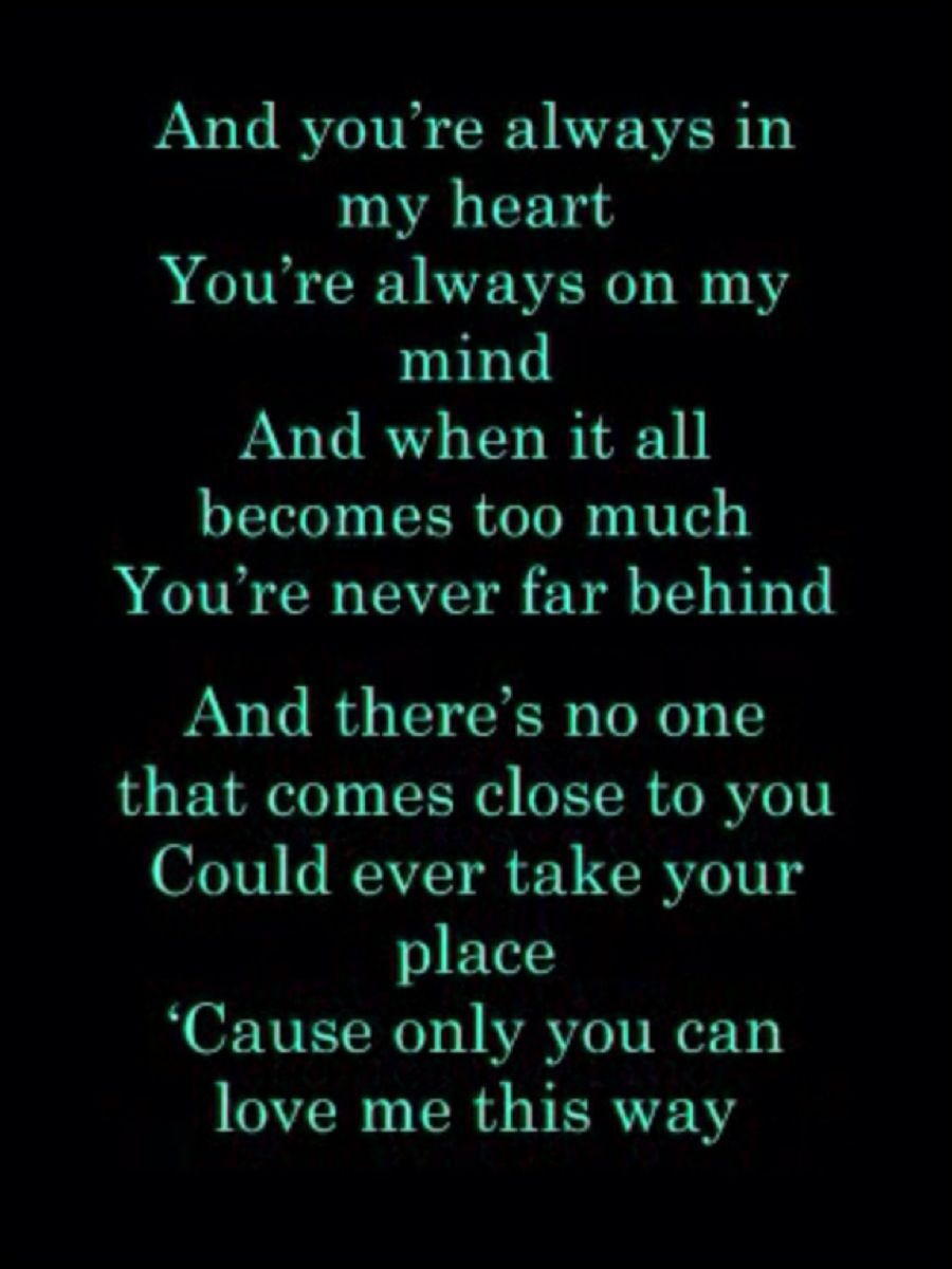 i wanna be your everything by keith urban song i want playing at First Dance Wedding Songs Keith Urban only you can love me this way keith urban hmm i dedicate this to some one special , sugar bear first dance wedding songs keith urban