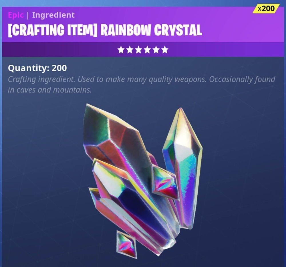 Fortnite Rainbow Crystal Xbox One Fortnite Rainbow Crystal