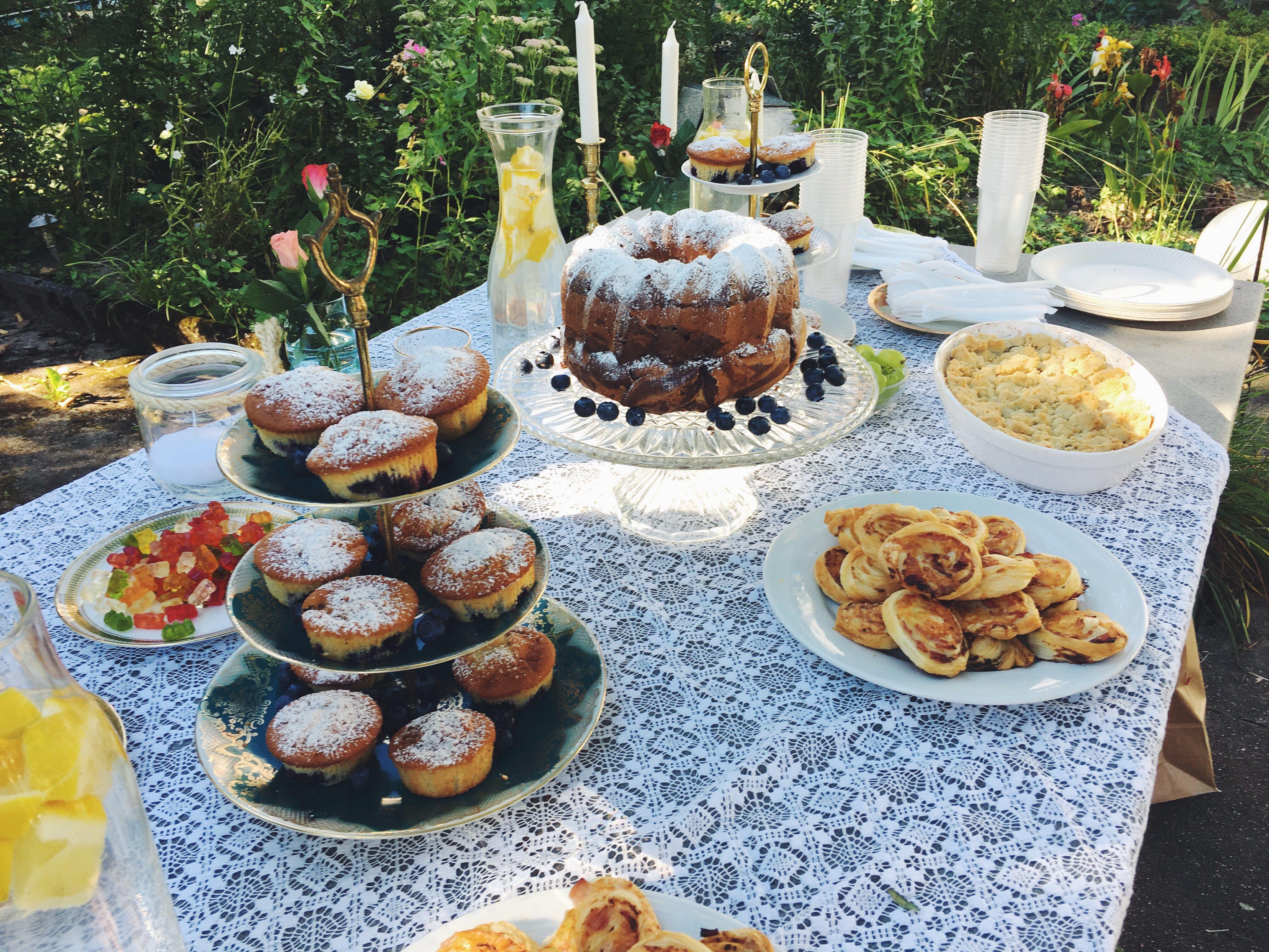 Birthday picnic ☀️ #deko #food #summer #outside