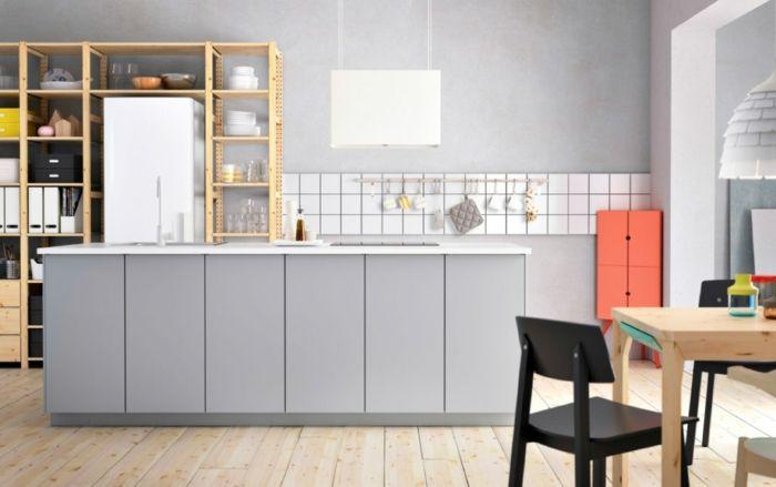 Hellgraue Wand 1001 ideen für wandgestaltung küche zum entlehnen