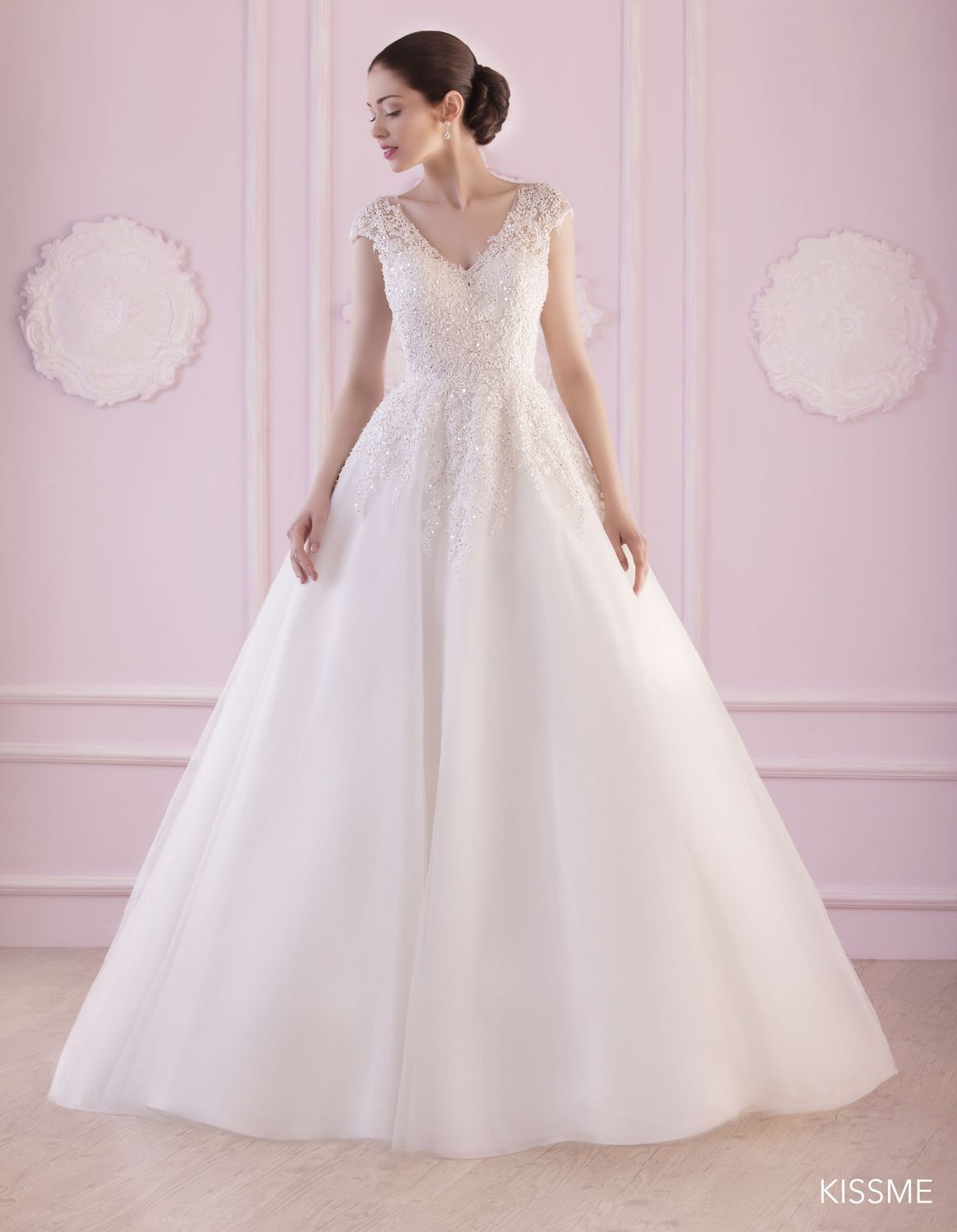 robe de mari eacute e kissme par jarice collection elegance coupe le modegravele kissme de jarice collection elegance 2017 est une robe de marieacutee de coupe princesse