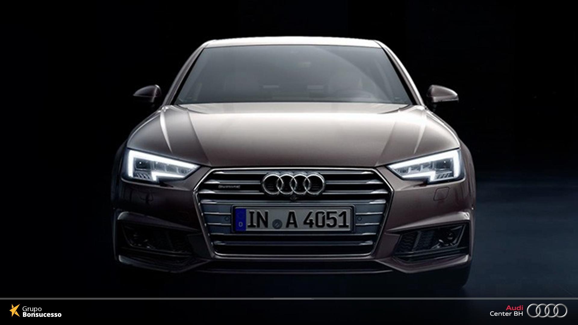 O Design Esportivo Do Audi Sedan Funde Se Harmoniosamente Com O