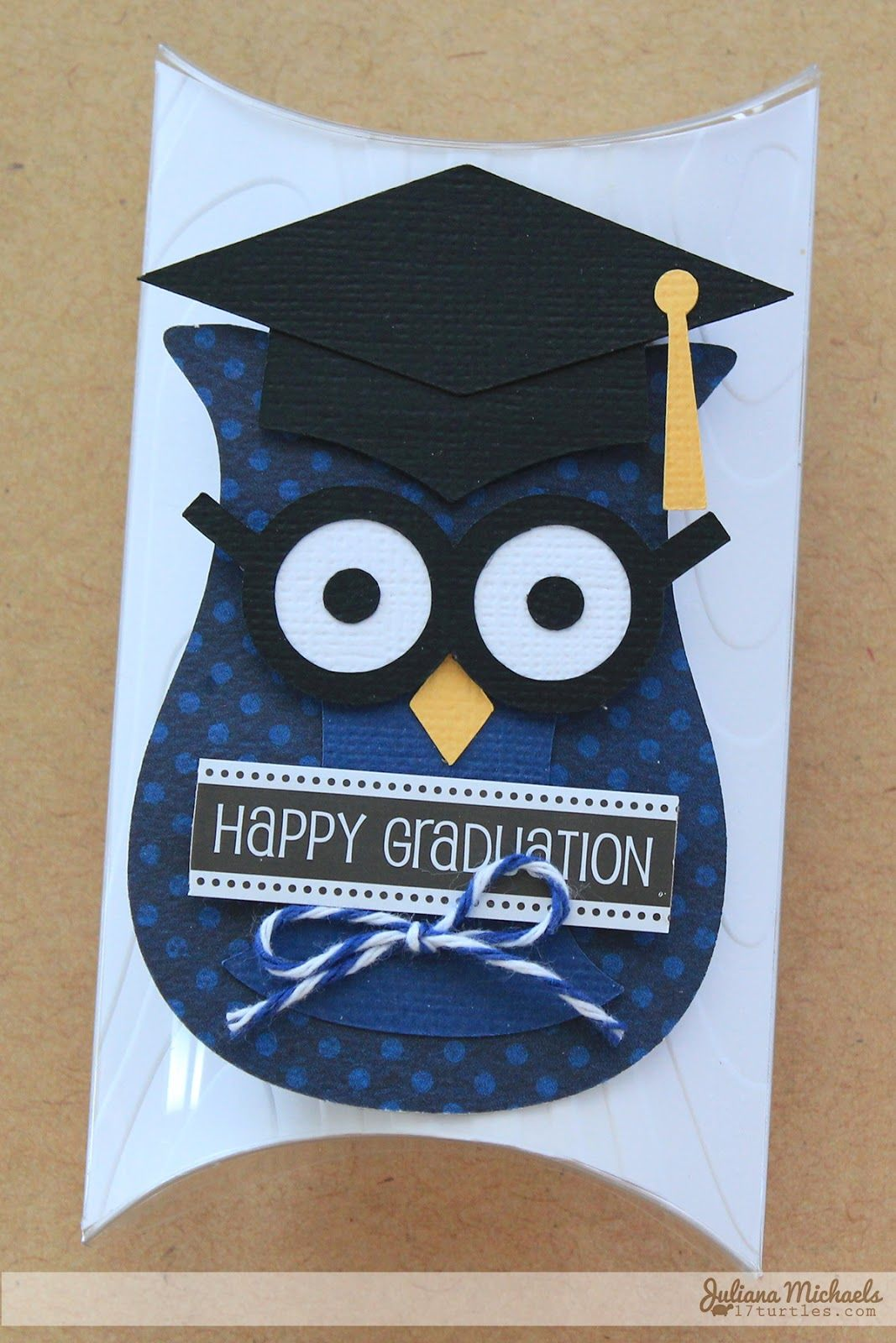 Hoot! Hoot! Happy Graduation Gift Card Holder using SRM Stickers Graduation DIY Kit #srmstickers #giftcardholder #graduation