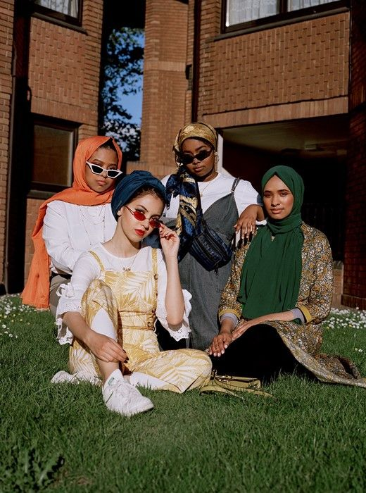 Photo of Young Muslim women discuss what modest style means to them