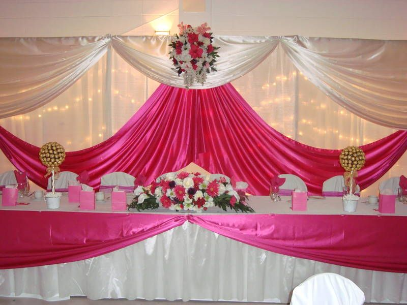 Venue decoration ideas wedding decoration wedding for Pictures of wedding venues decorated