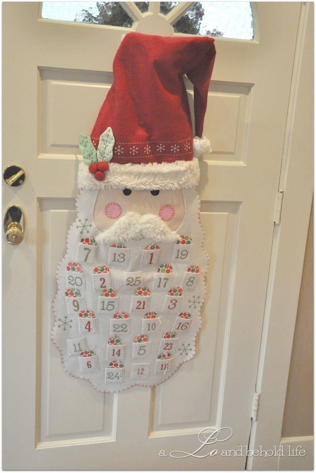 Santa Advent Calendar.  a LO and behold life
