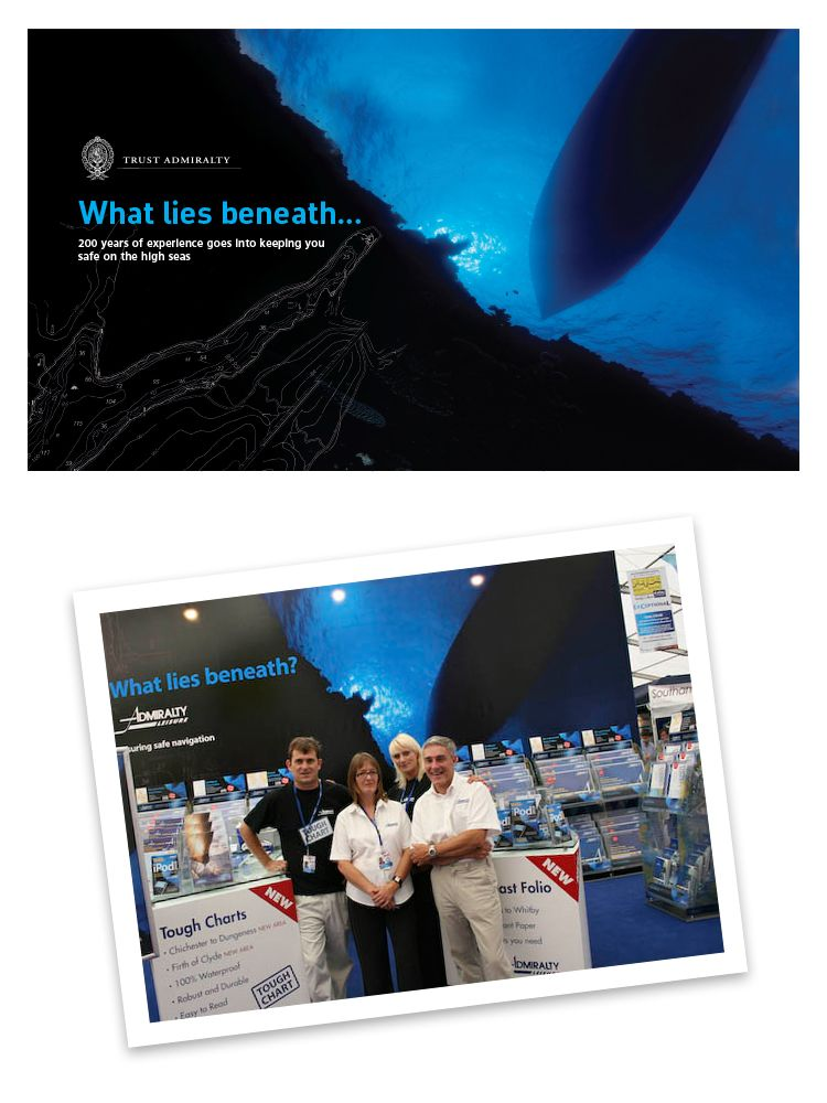 Expo Stand Backdrop : Exhibition backdrop for the uk hydrographic office ukho for their