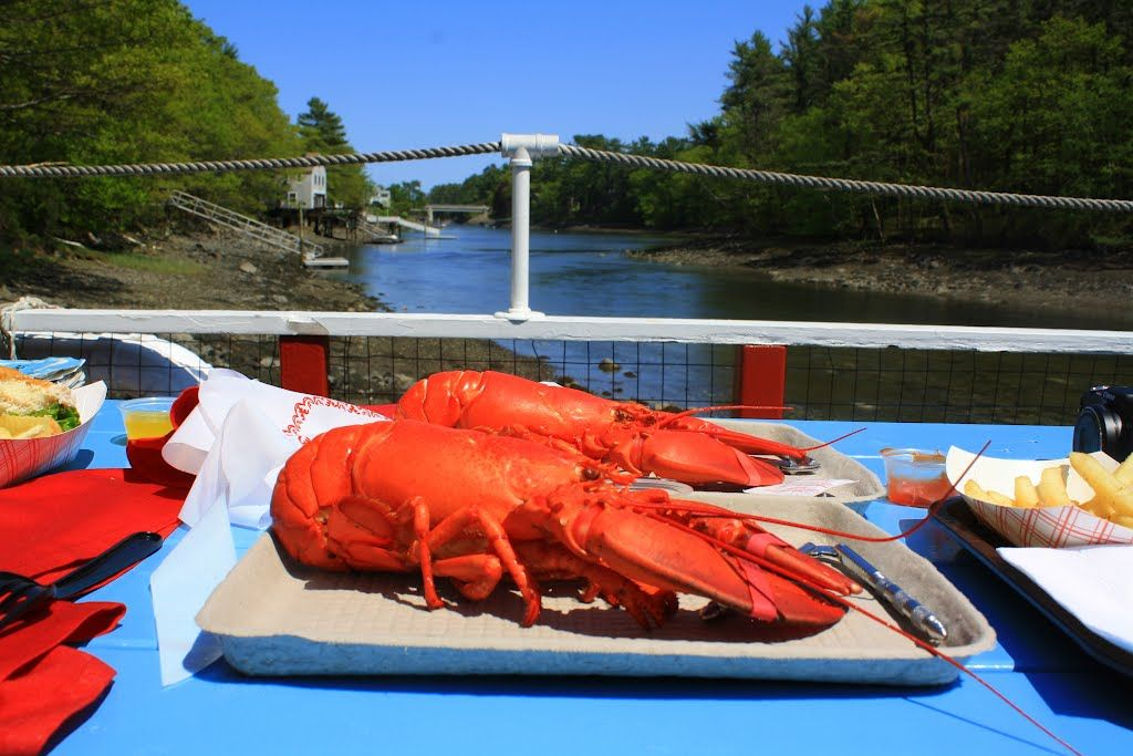 Top Seafood Restaurants In New England Chauncey Creek Lobster Pier Kittery Point Me