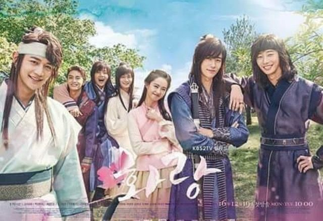 Hwarang, Korean drama.  I love it