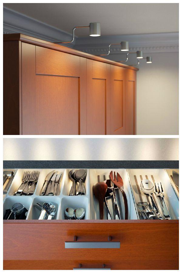 ikea kitchen cabinet lighting home decor