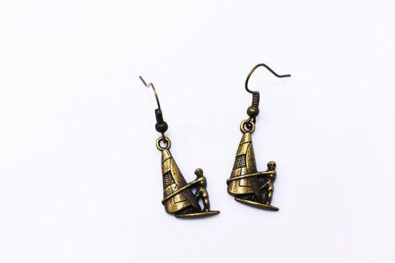 Miniature Jewelries Windsurfing Dangling by boysenberryaccessory