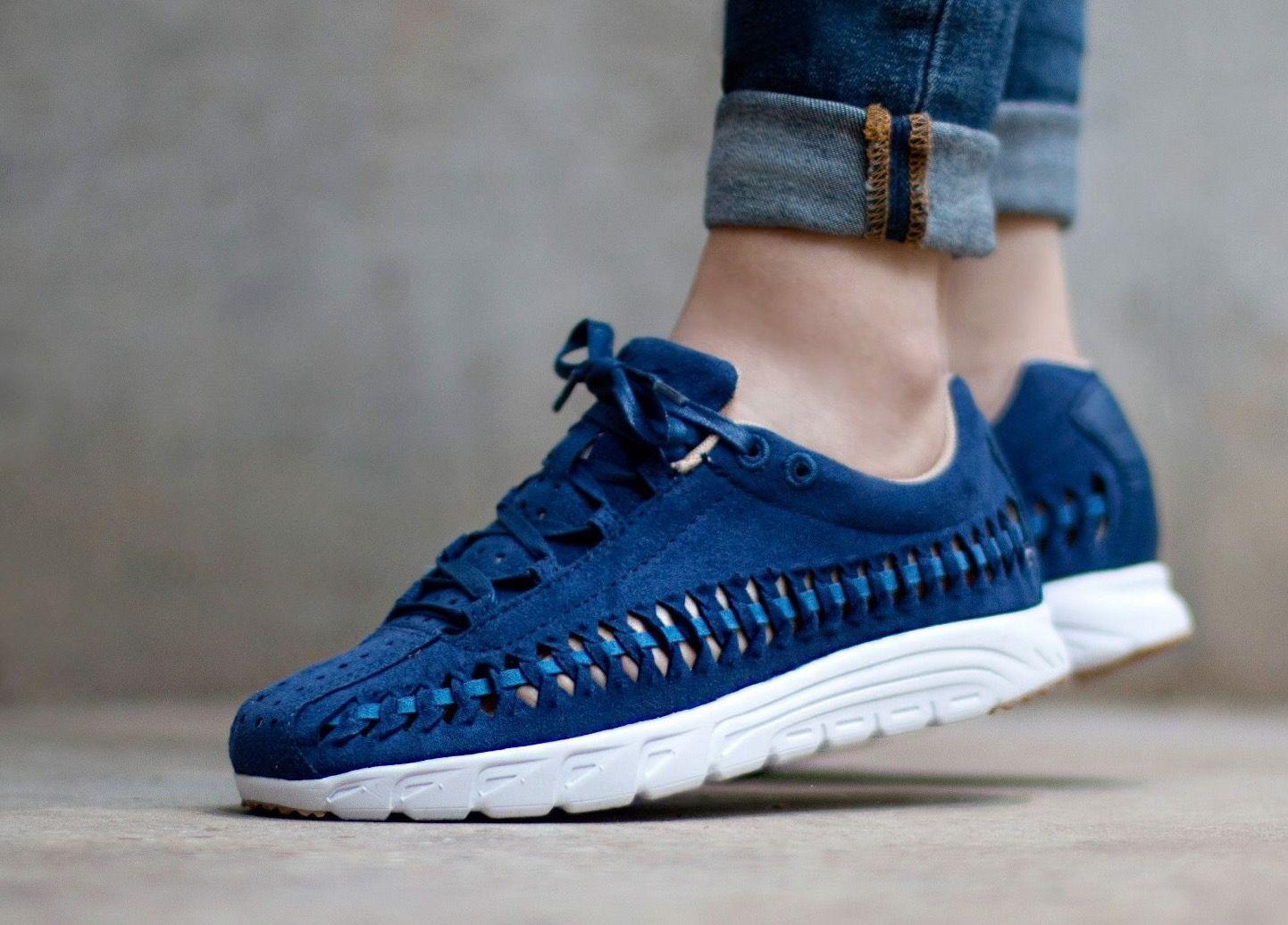 Nike Mayfly Woven: Blue · Shoes WomenMayflyOutfitCoastalSneakers ...