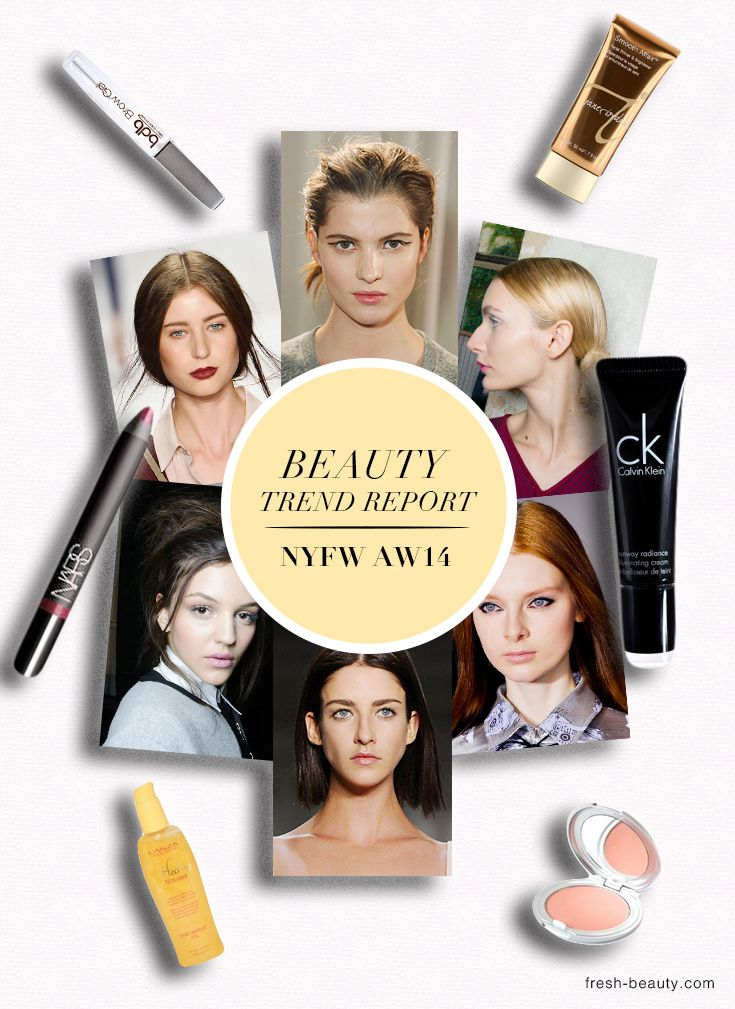 NYFW14 Beauty Trends - New York Fashion Week Backstage Beauty Favorite Picks , Tricks and Tips from the world's top makeup artists ,models and designers