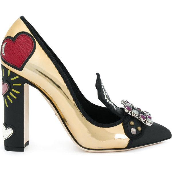 Dolce & Gabbana Women's Metallic Pointy Toe Pump RCUYavCq