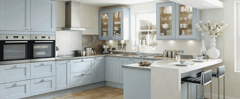 Kitchen Styles 2015 kitchen trends 2015 - blue - sm mckeown building contractors