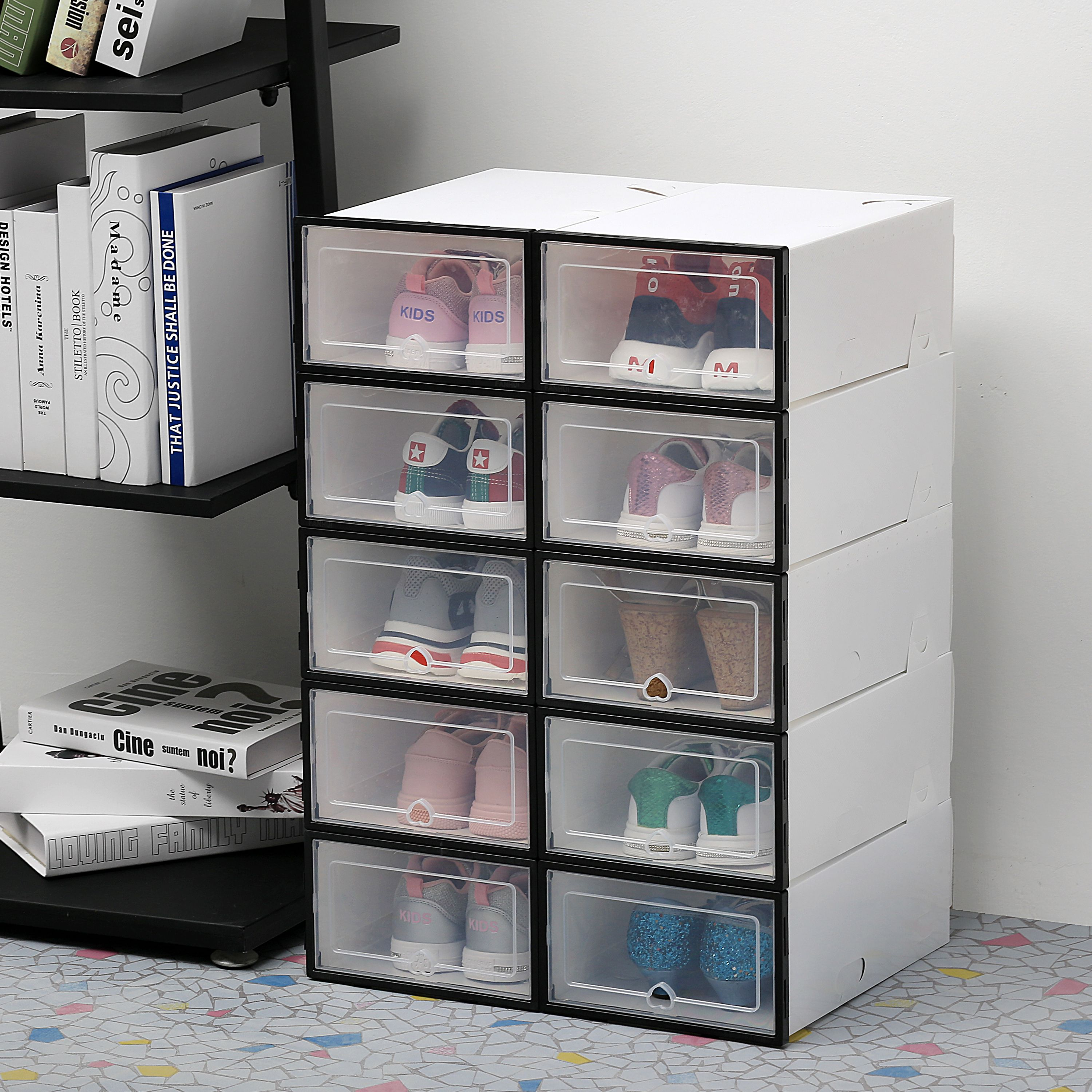 70 Off Today 2019 New Drawer Type Sho In 2020 Shoe Rack Drawer Storage Storage Shelves