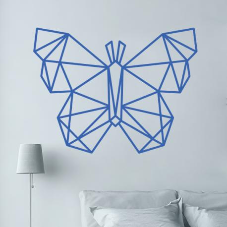 sticker mural papillon origami geometrique | Révélation | Pinterest ...