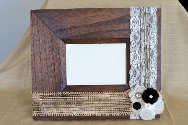 Top 10 Tutorials for Decorating Picture Frames | Decorated picture ...