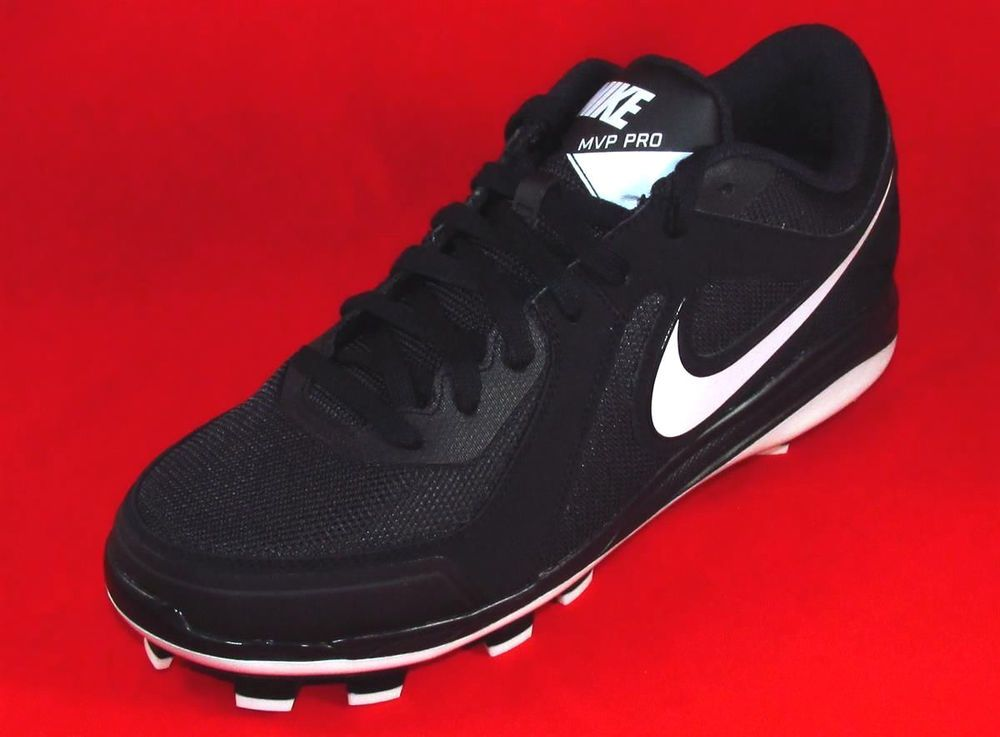 Nike Air MVP Pro Low MCS Molded Baseball Cleats Mens Size 8 \u0026 11.5  Black/White. Molded Baseball CleatsSports ShoesNike Air