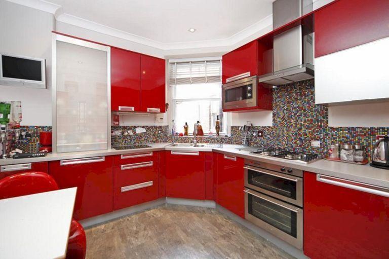 red and black kitchen ideas 12 kitchen design decor pinterest rh pinterest com
