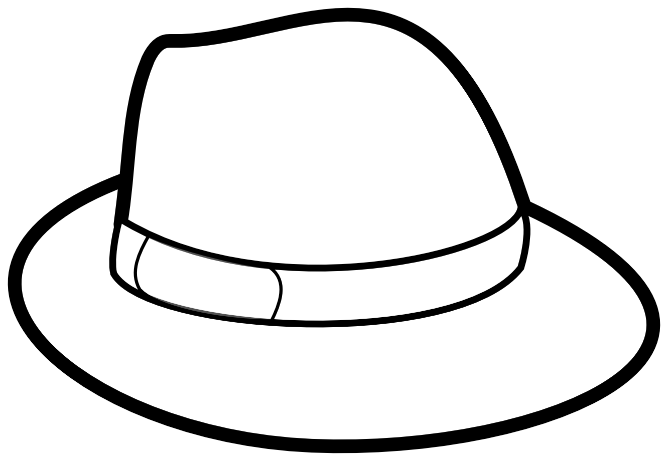 Hat Coloring Pages 19 Png 1331 920 Coloring Pages Pictures Of Hats Coloring Pages For Kids