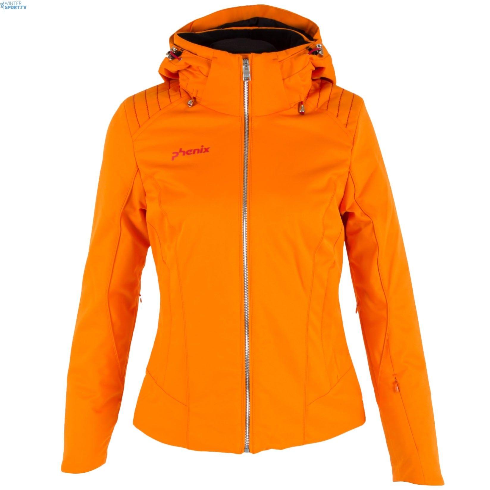 Phenix Women Akakura Ski Jacket Flame Orange   Jacken und