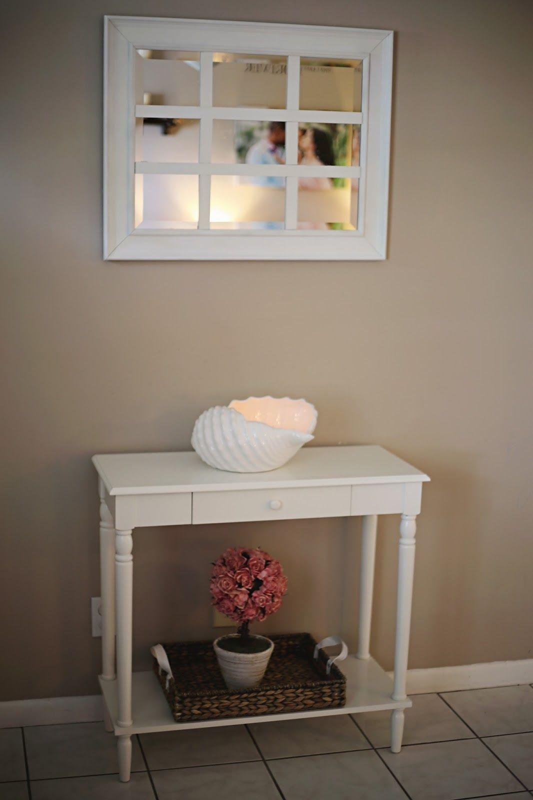 Diy window pane multipanel mirror pottery barn dupe hack