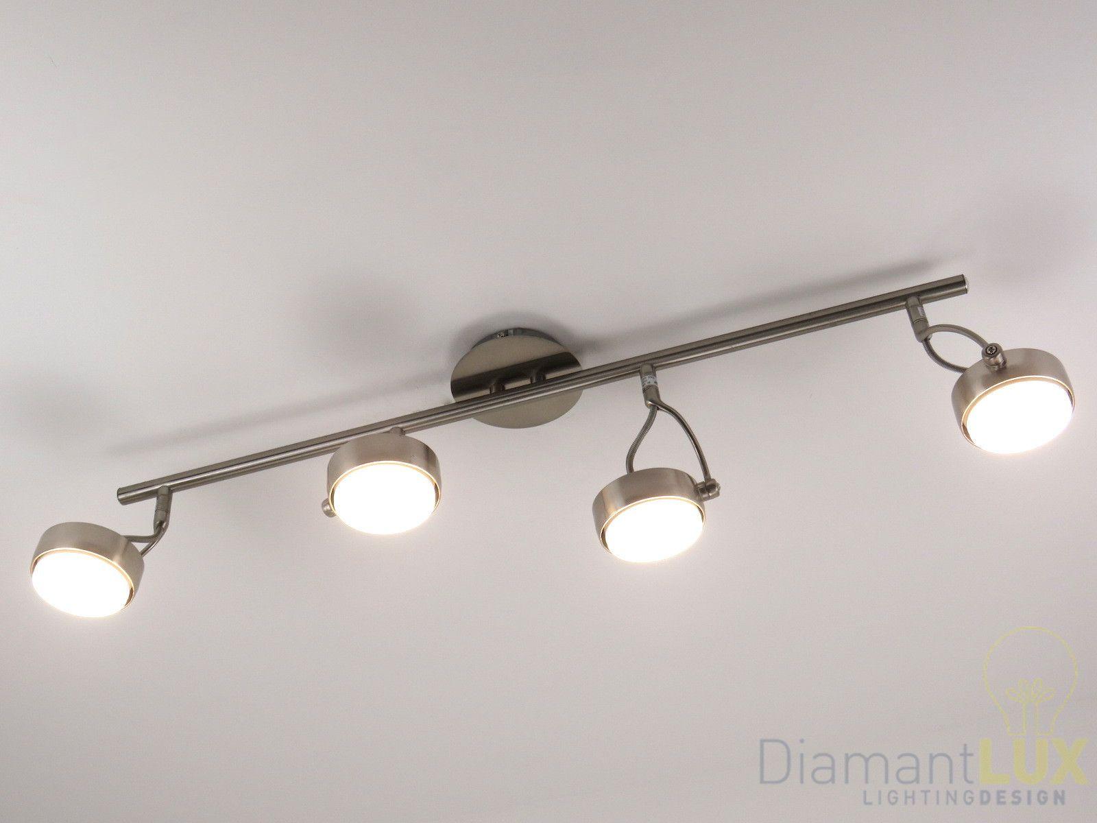 Lampadari A Faretti Led.Lampadario Da Soffitto Dal Design Moderno Con Faretti