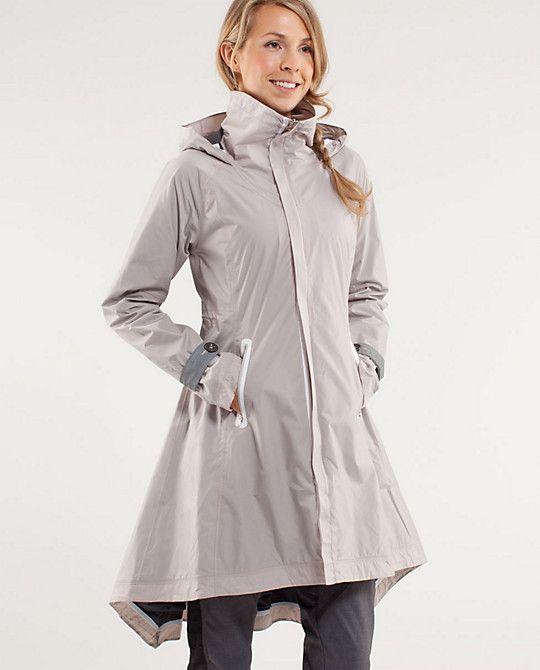 Dot Print Women Raincoat With Hood Outdoor Bicycle Rainwear Waterproof Rain Coat