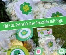 www.iheartnaptime.com #freeprintable #stpatricksday上で無料で聖パトリックの日印刷可能なギフトタグ
