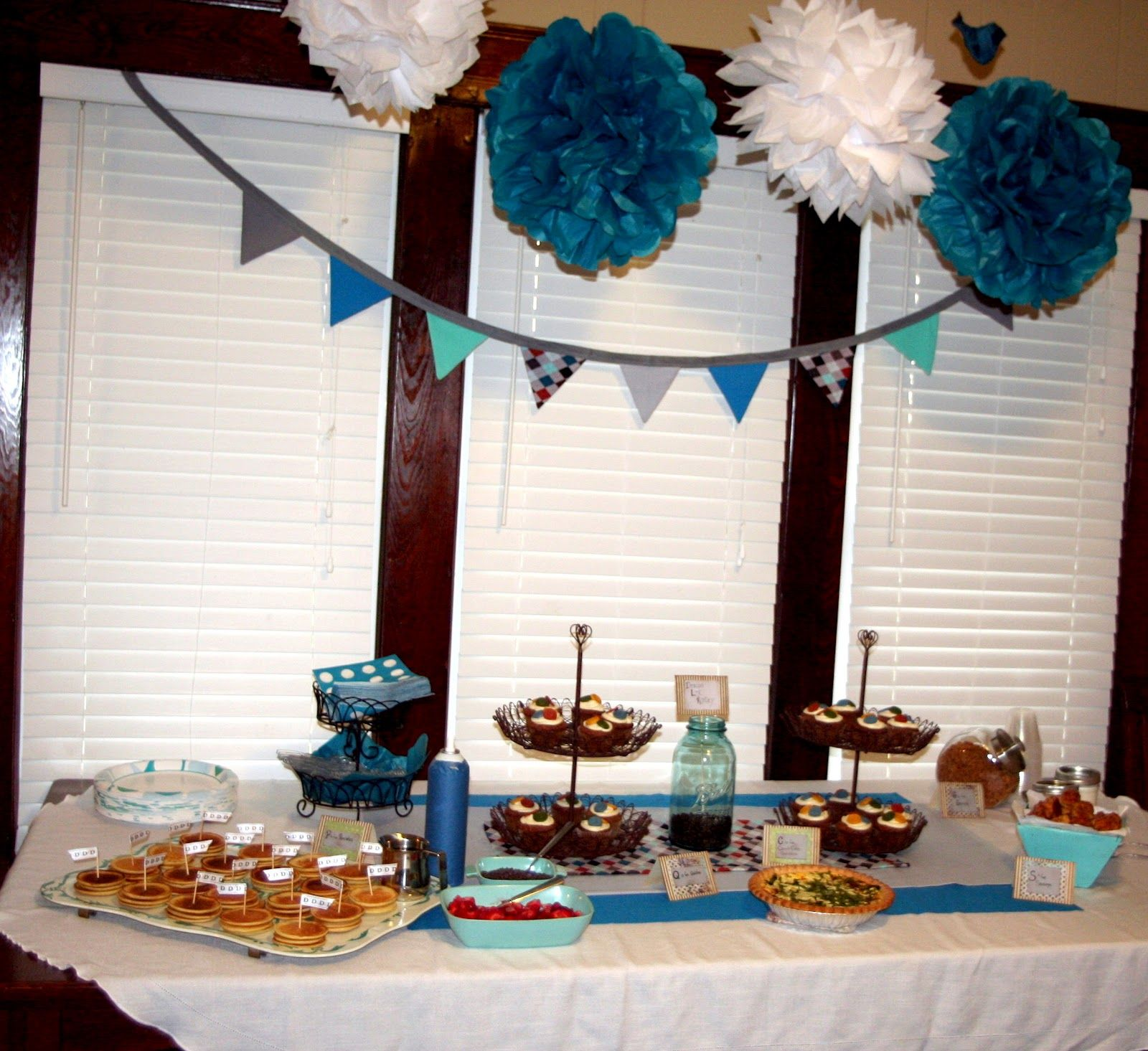 Baby Boy Shower Decorations Handmade | Handmade Vintage Baby Shower Ideas