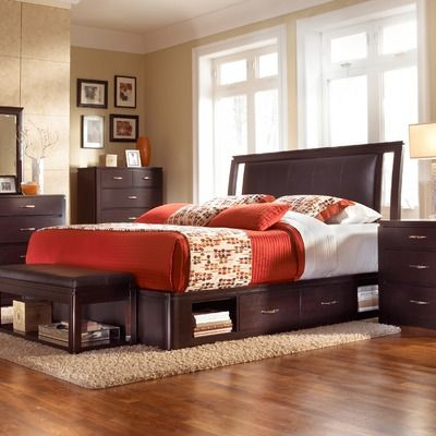 Alliance Low Profile Leather Storage Bed Murphy Bed Plans
